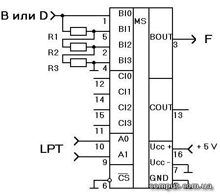 что на микросхеме К561кп1