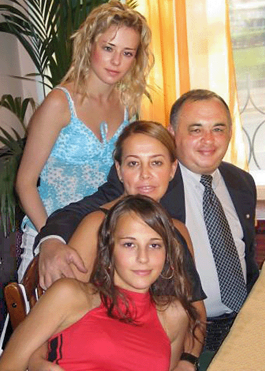 Dr. Nikolay Royenko in the circle of his favorite women: wife and two daughters
