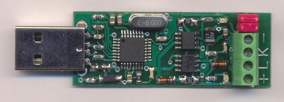 Диагностический адаптер на микроконтроллере 59